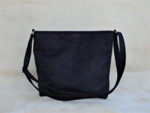 sac bandoulière noir boutique Aloée