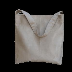 sac hobo bag suedine beige sable Aloée produit