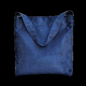 sac hobo bag suedine bleu marine Aloée produit