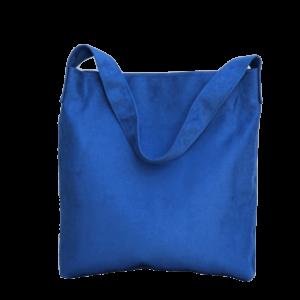 sac hobo bag suedine bleu roy Aloée produit