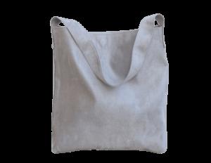 sac hobo bag suedine gris Aloée produit