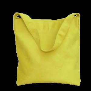 sac hobo bag suedine jaune Aloée produit