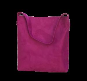 sac hobobag suedine ros fuschia aloee produit