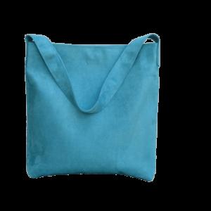 sac hobo bag suedine vert eau Aloée produit