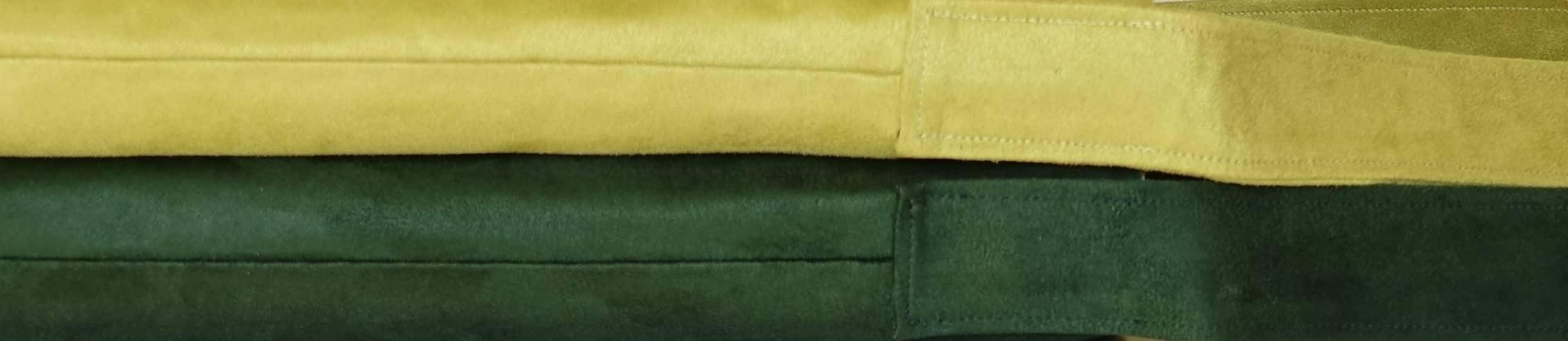 sac hobobag suedine verts aloee